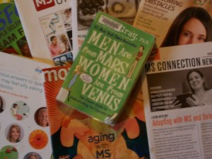 The book Men are from Mars Women are from Venus